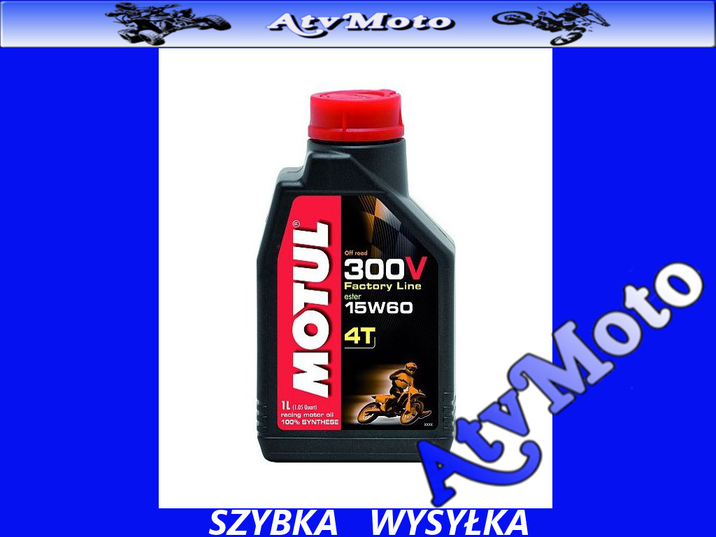 motul 300v off road 15w60 olej silnikowy 4t 1l. Black Bedroom Furniture Sets. Home Design Ideas